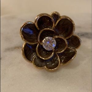 Vintage Cocktail Flower Ring